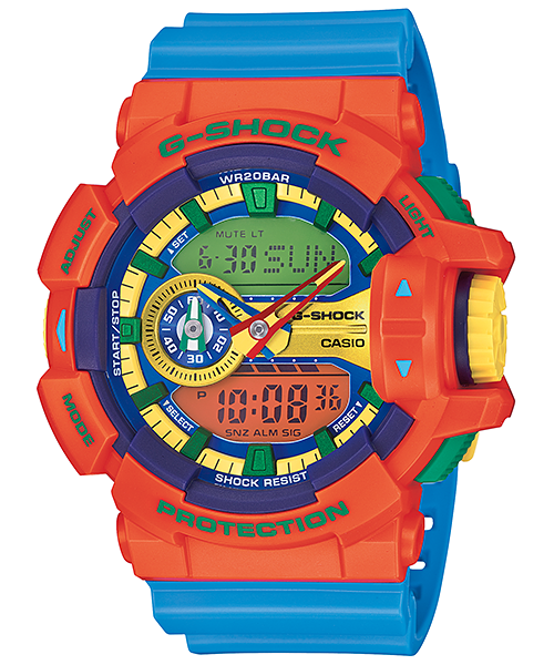Casio G-shock GA-400-4ADR